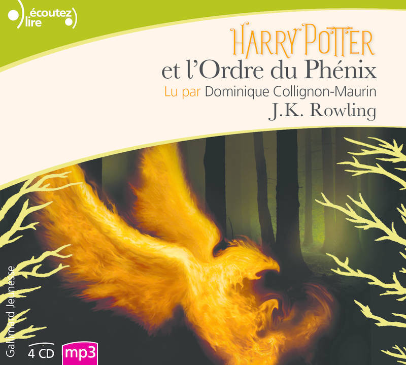 Livre Audio Harry Potter Et L Ordre Du Phenix 4 Cd Mp3