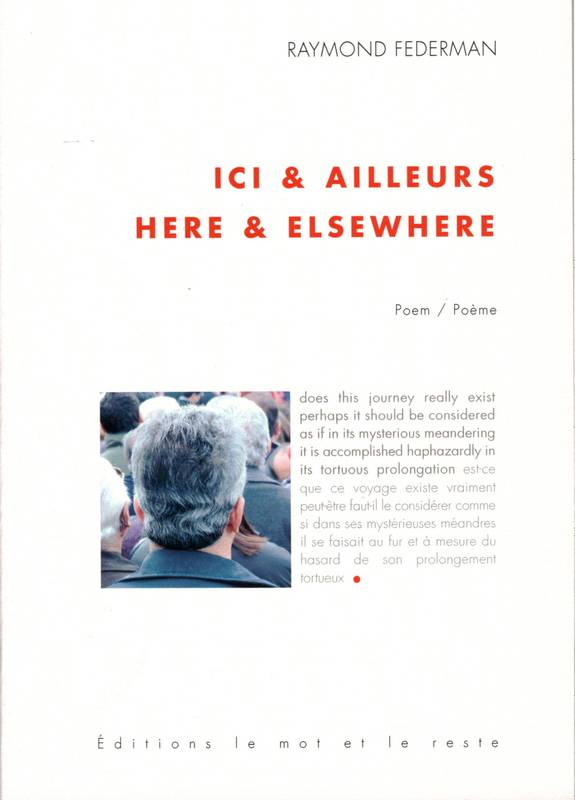 Ici et ailleurs, Here and elsewhere