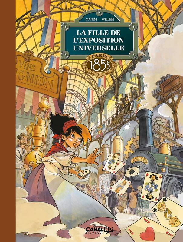 La Fille de l'Exposition Universelle - volume 01 - toilé