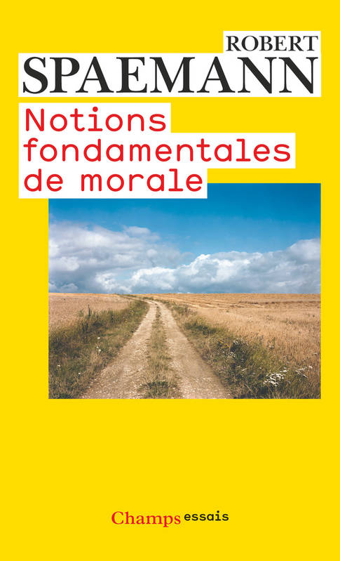 Notions fondamentales de morale