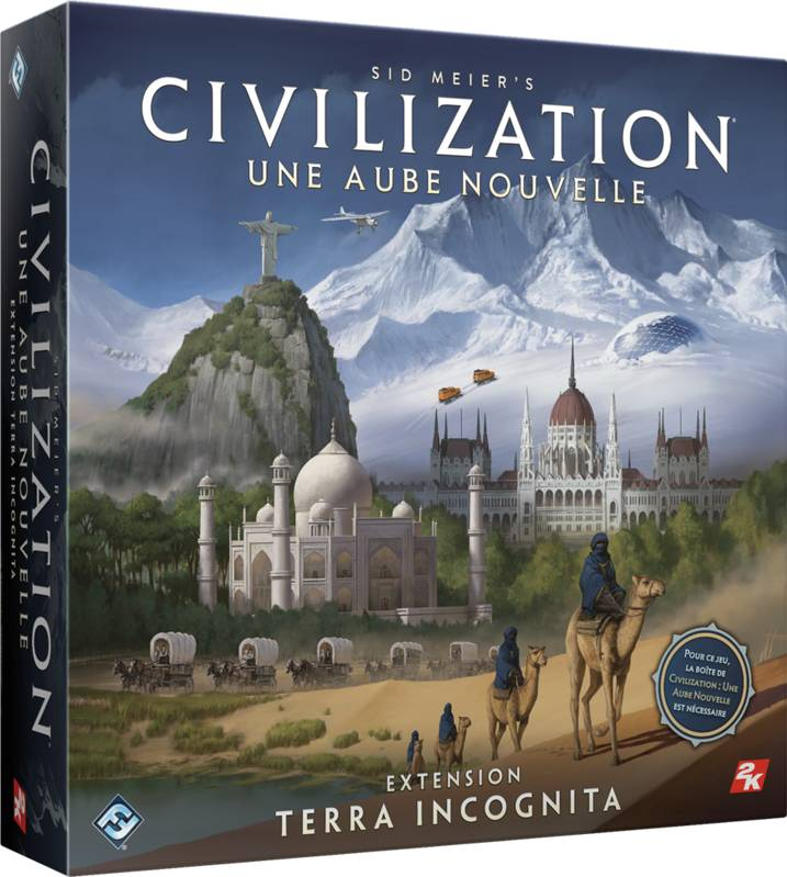 Terra Incognita - Civilization - Une aube nouvelle - Extension