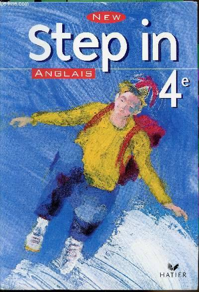 Livre New Step In 4e Manuel Ed 2002 Odile Bontout