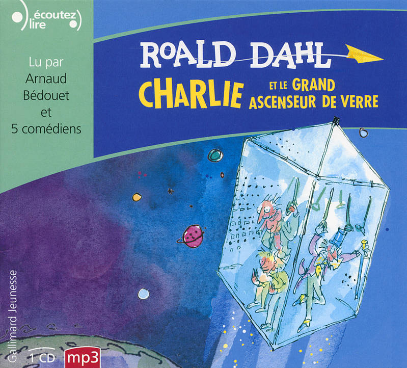 CHARLIE ET LE GRAND ASCENSEUR DE VERRE CD
