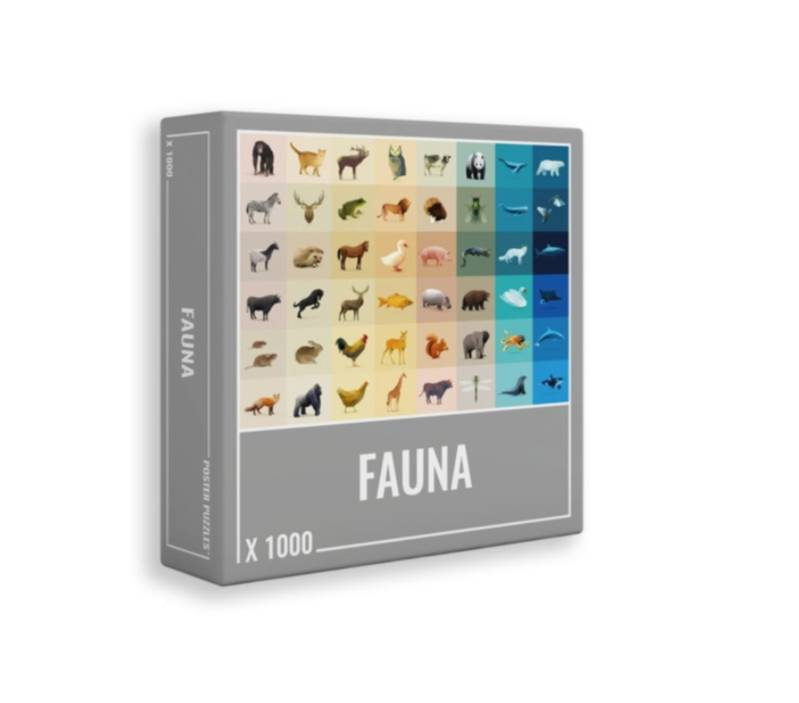 PUZZLE 1000 PIECES FAUNE