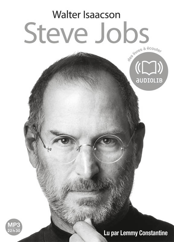 Steve Jobs, Livre audio 2 CD MP3 - 674 Mo + 591 Mo