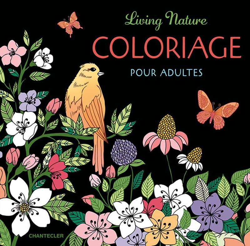Living nature / coloriage pour adultes