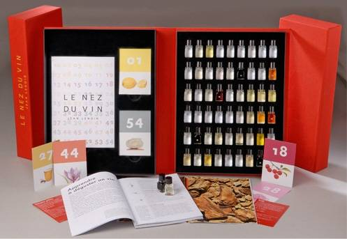 Le Nez du Vin : Le grand coffret (54 arômes) version en Russe - Нос вина ® Русская версия