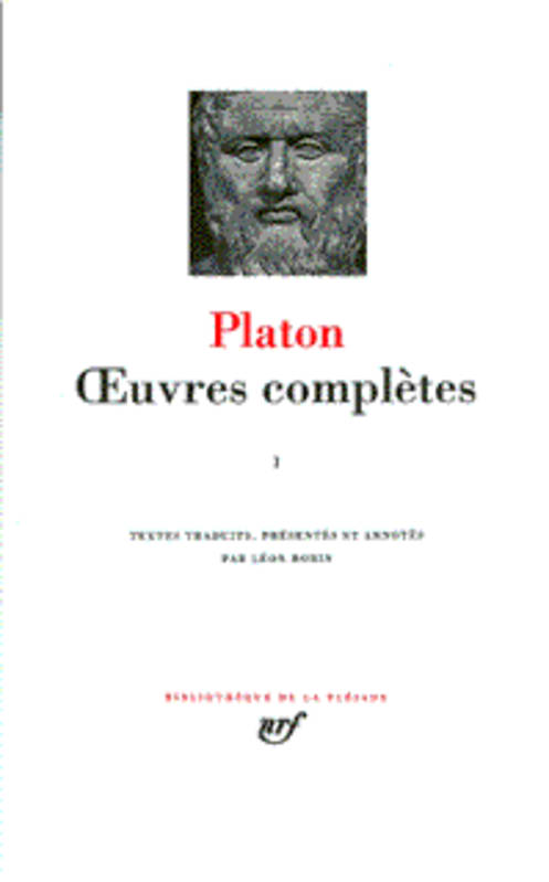 Oeuvres complètes / Platon., I, Œuvres complètes (Tome 1)