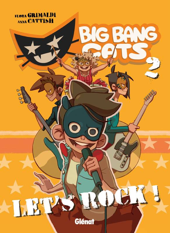 Tome 2, Big Bang Cats - Tome 02, Let's Rock !