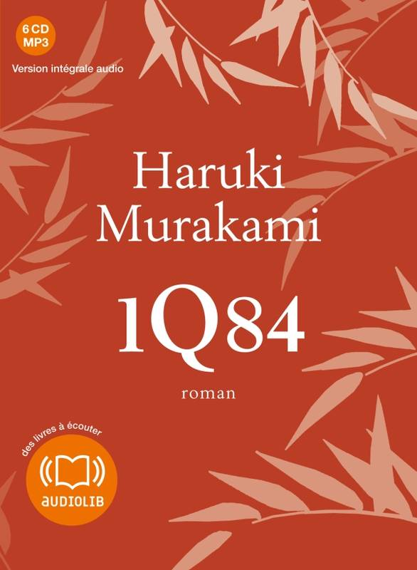 Coffret 1Q84, Coffret 6 livres audio MP3 regroupant les 3 volumes du roman 1Q84