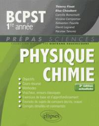 PHYSIQUE-CHIMIE BCPST-1 - 2E EDITION ACTUALISEE