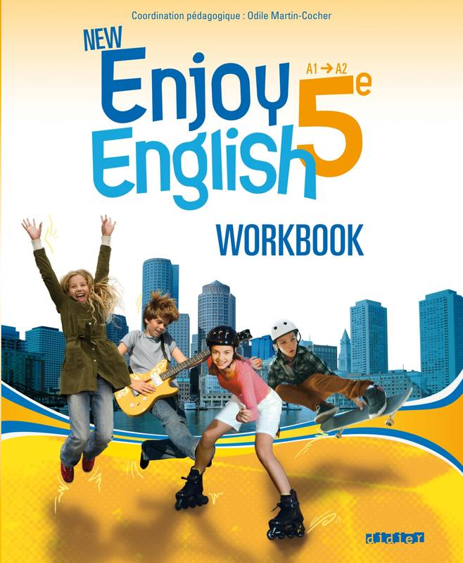 New Enjoy English 5e - Workbook - version papier, Exercices