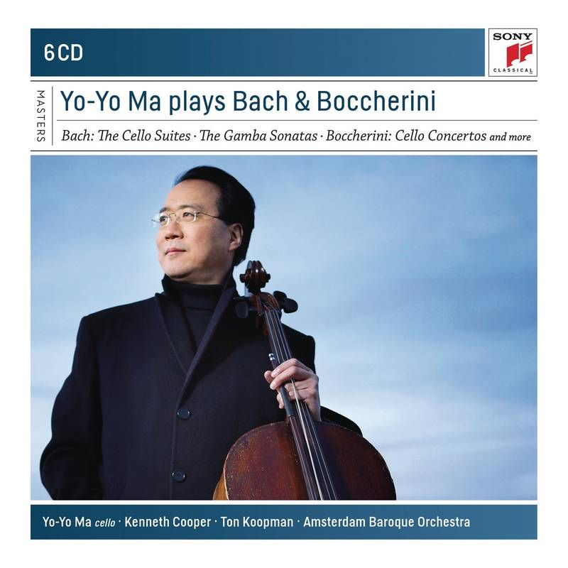 Yo Yo Ma plays Bach and Boccherini