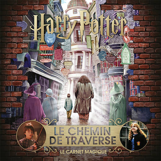 Harry Potter : Le Chemin de Traverse, Le carnet magique