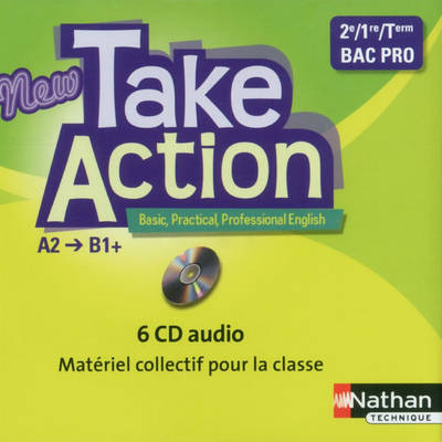 NEW TAKE ACTION BAC PRO 6 CD AUDIO 2013