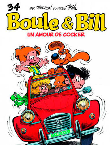 Album de Boule & Bill., Boule & Bill