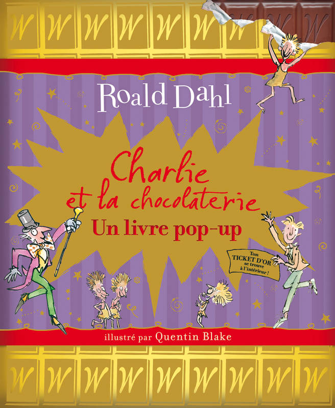 Charlie et la chocolaterie, Un livre pop-up