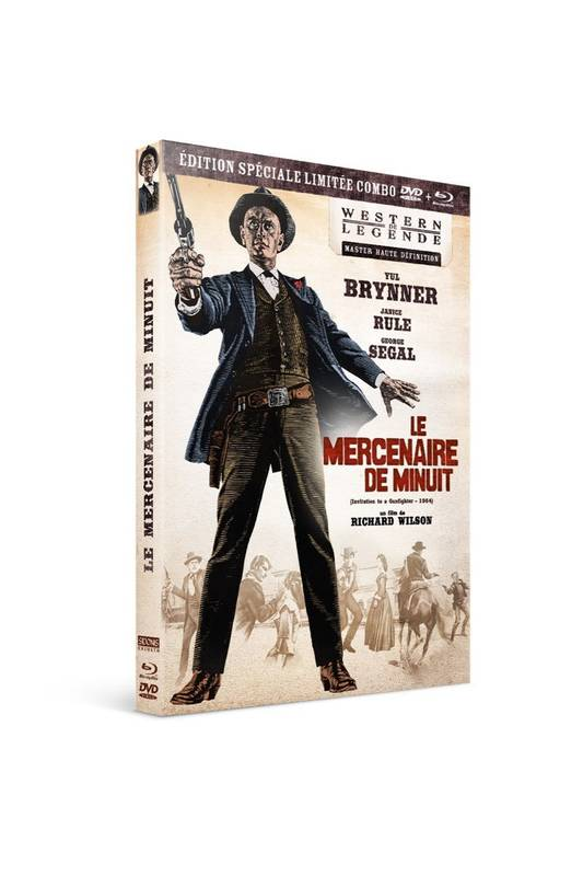 Le mercenaire de minuit Combo Bluray+DVD