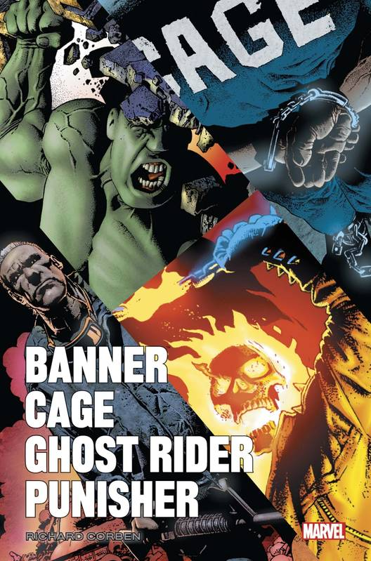 Banner/Cage/Punisher par Richard Corben