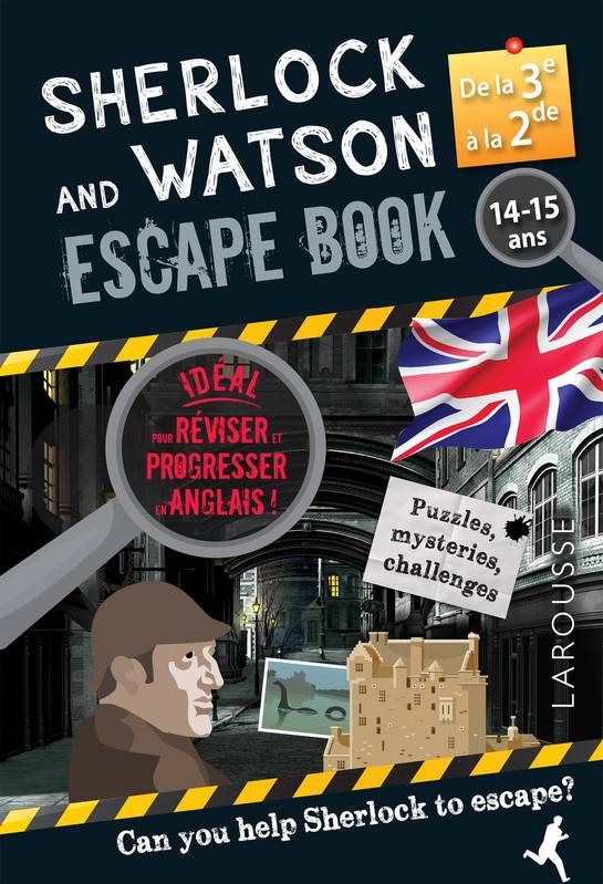 Sherlock and Watson escape book / de la 3e à la 2de