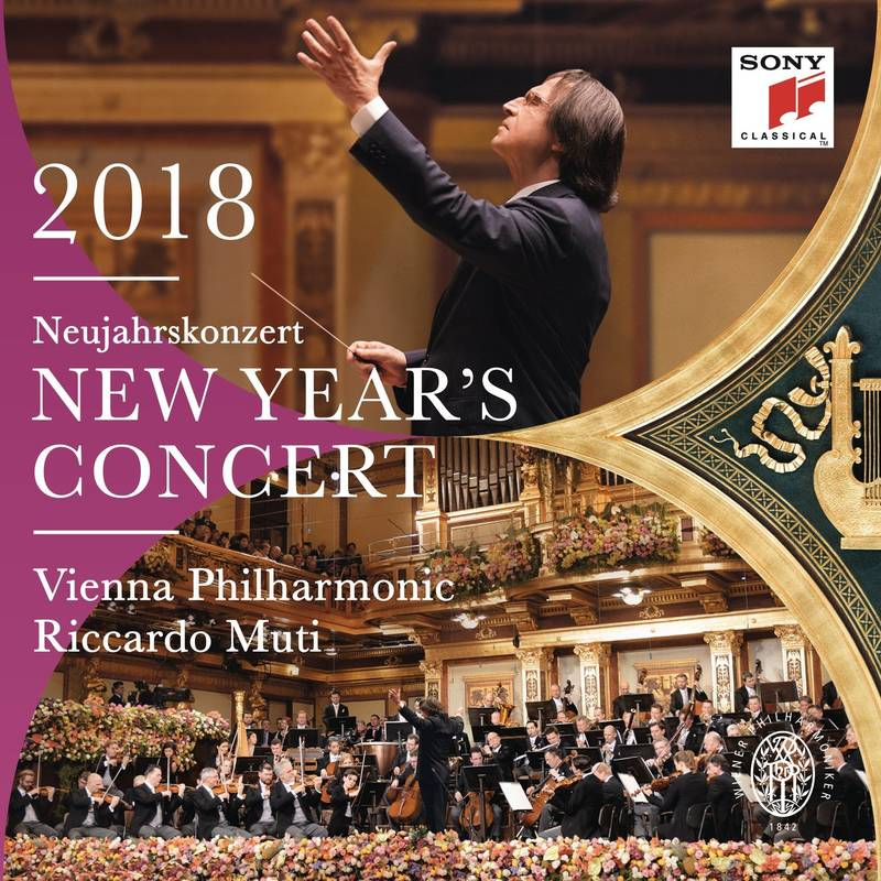 Neujahrskonzert 2018 / New Year's Concert 2018 ~ Dvd Version