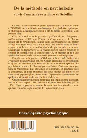 Ebook de la m thode en psychologie suivie d 39 une analyse for Ecriture en miroir psychologie