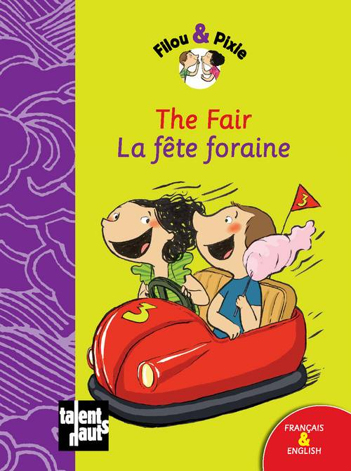 Filou & Pixie, THE FAIR - LA FETE FORAINE, Livre@