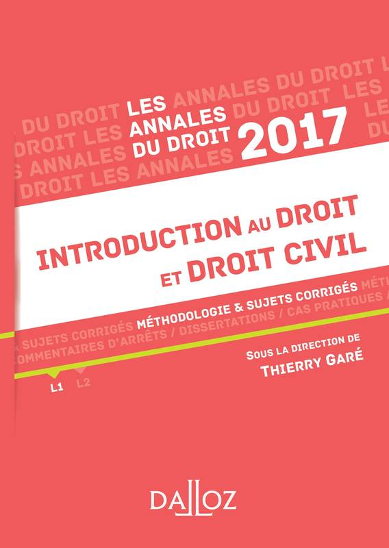 Dissertation Droit Civil Exemple