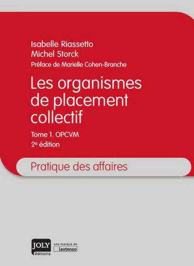 LES ORGANISMES DE PLACEMENT COLLECTIF - 2EME EDITION - OPCVM
