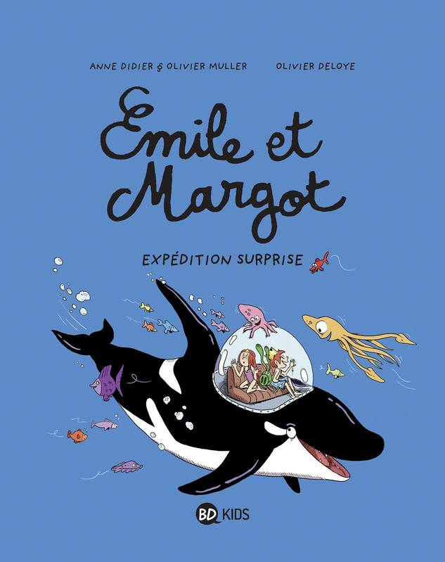 Émile et Margot, Tome 10, Expédition surprise
