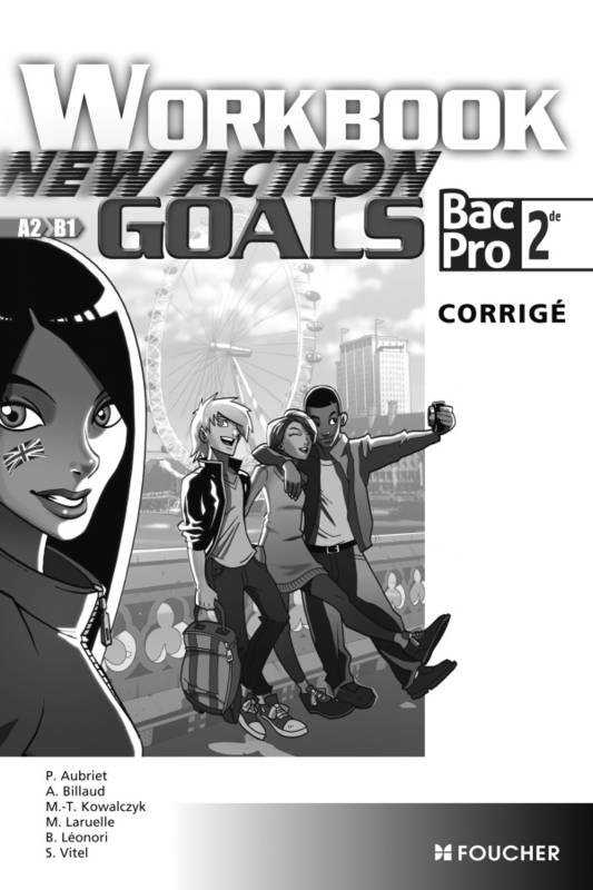 New Action Goals - Workbook Sde Bac Pro Corrigé, Ex+corrigé