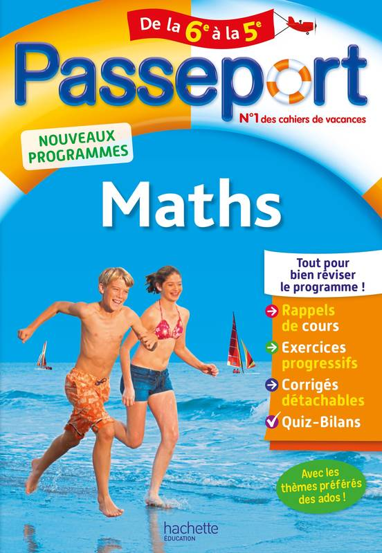 Passeport - Maths de la 6e à la 5 e