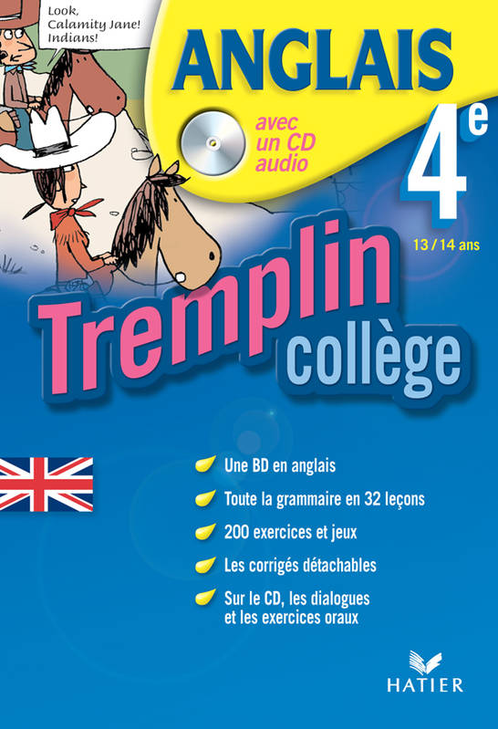 Livre Tremplin College Anglais 4eme Cd Eleve Lockhart