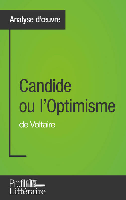 a literary analysis of candide by voltaire