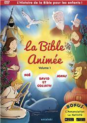 La Bible Animee - Volume 1 - Noe - David Et Goliath - Jonas