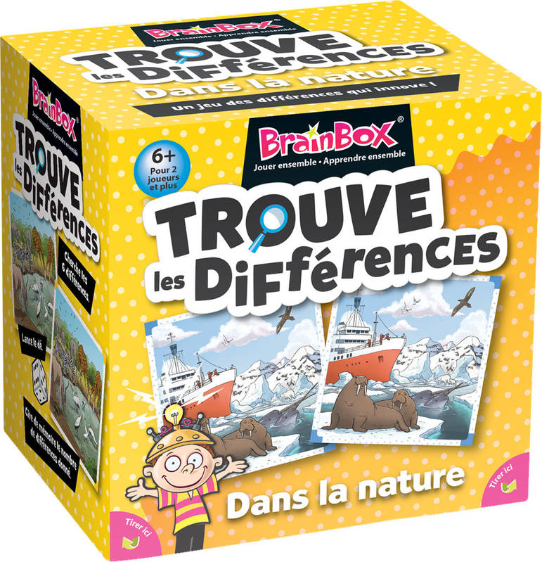 BRAIN BOX TROUVE LES DIFFERENCES NATURE