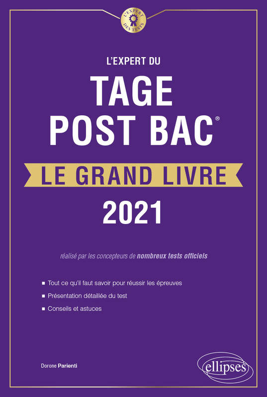 L'Expert du Tage Post Bac® - Le Grand Livre