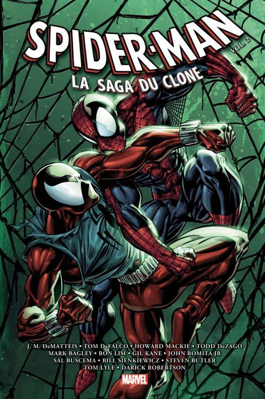 Spiderman, 2, Spider-Man : la Saga du Clone T02