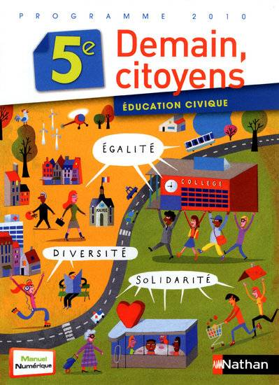 Éducation civique 5e (2010) - Format compact, éducation civique, 5e