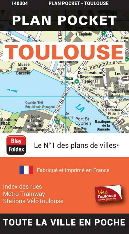 TOULOUSE PLAN POCKET