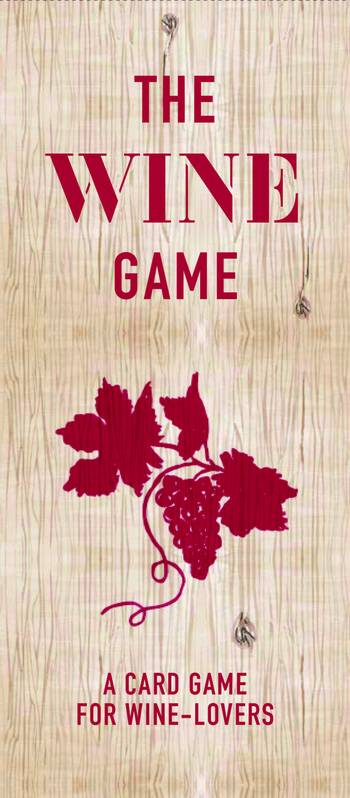 The Wine Game, a card game for wine lover (Anglais)