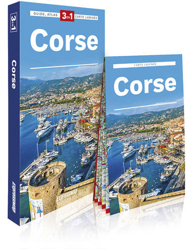 Corse / 3 en 1 : guide + atlas + carte