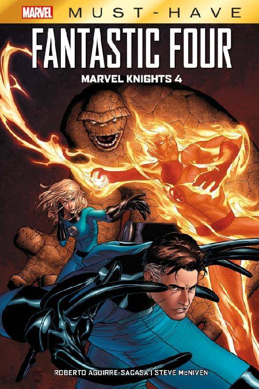 Marvel must-have, Fantastic Four: Marvel Knights 4, Marvel knights 4