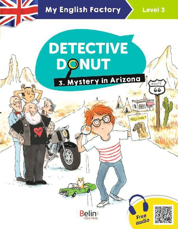 Detective Donut, Mystery in arizona