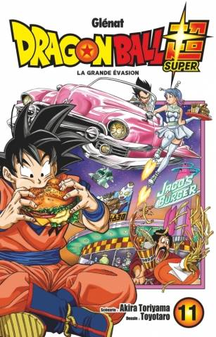 11, Dragon ball super, Tome 11