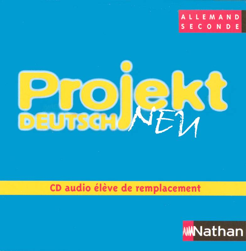 Projekt deutsch 2e cd audio eleve de remplacement