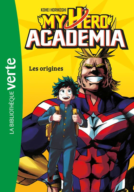 1, My Hero Academia 01 - Les Origines