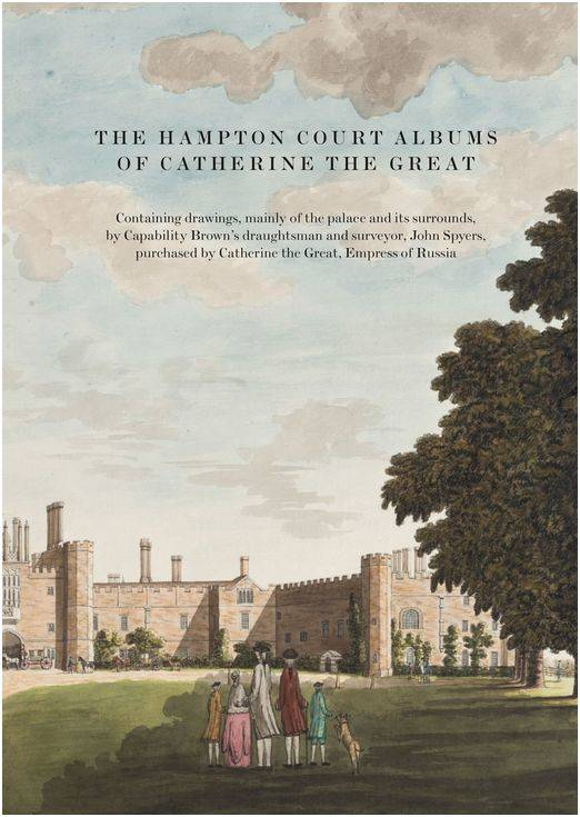 THE HAMPTON COURT ALBUMS OF CATHERINE THE GREAT /ANGLAIS