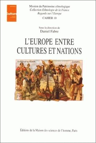 L'Europe entre cultures et nations, Actes du colloque de Tours, déc. 1993