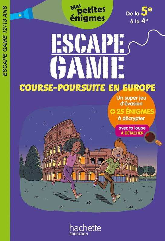 Escape game de la 5e à la 4e (12-13 ans)